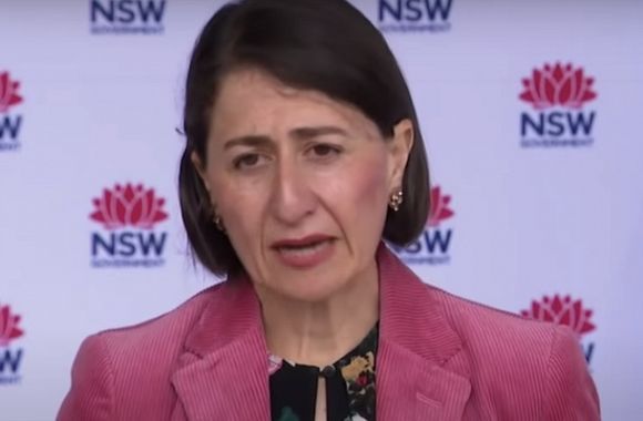 Berejiklian commands virus not to spread by not mandating masks or travel bans
