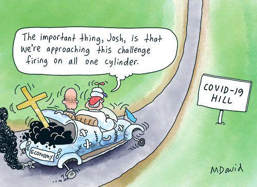 لا تتمتع موريسون بمناخ اقتصادي ملائم لأستراليا