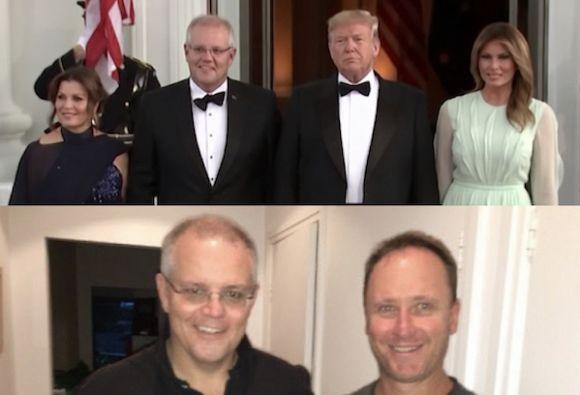 Scott Morrison's 'distress', not condemnation of U.S. Congress attack