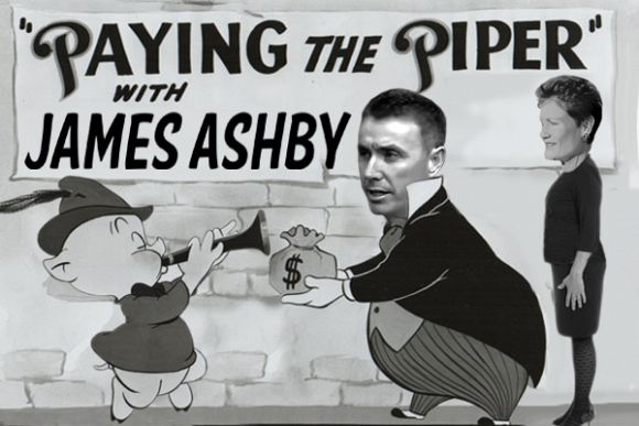 Paying the piper with One Nation's James Ashby