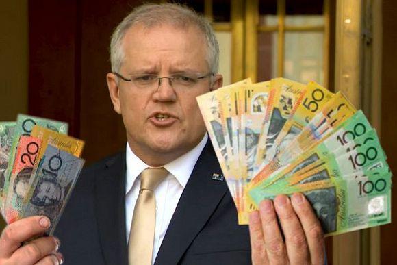 Morrison Government's gross debt makes Labor's GFC stimulus look like petty cash