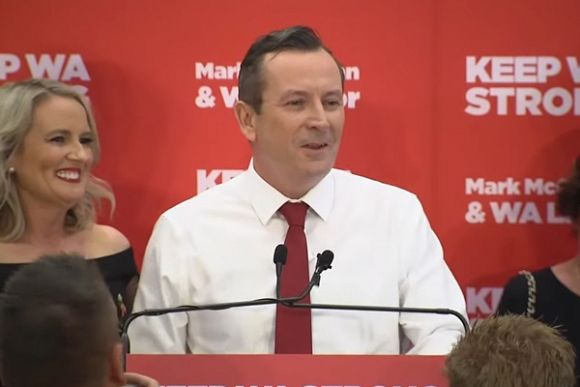 Mark McGowan's win a potential victory for Australian climate goals