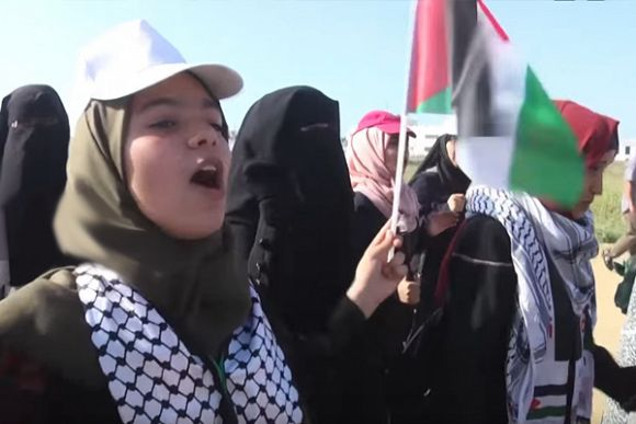 Palestinian women struggle for social and political active participation