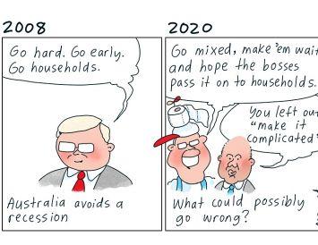 Rząd Morrisona jest zadłużony w Australii