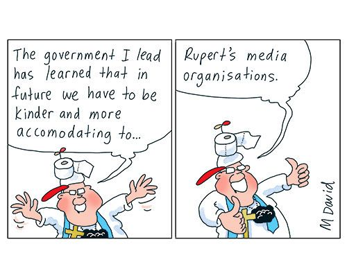 The Coalition, the Labor Party and the media