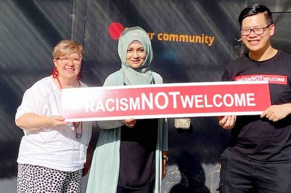#RacismNotWelcome campaign a visible sign of the times