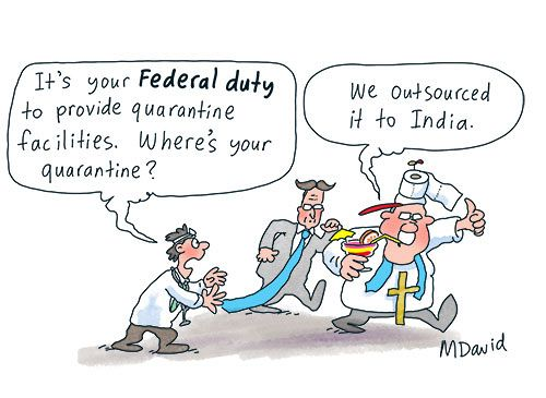 India latest front in Morrison Government's war on Australians