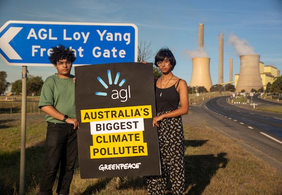 AGL takes Greenpeace to court over climate campaign