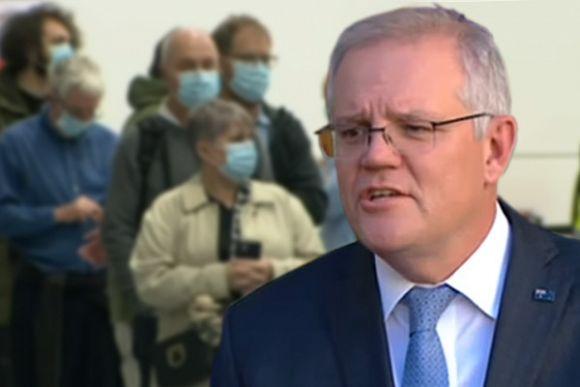 Scott Morrison to blame for latest Victorian lockdown