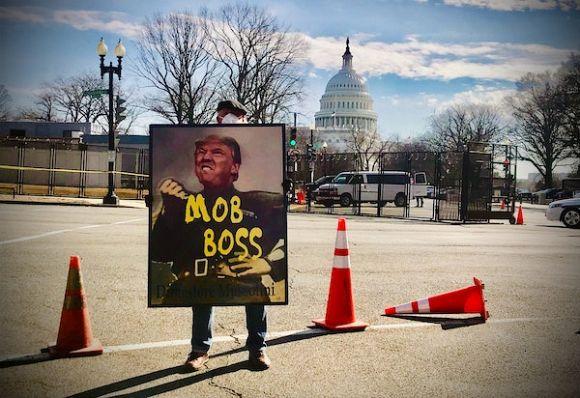 U.S. democracy at risk as Republicans condone Capitol riot