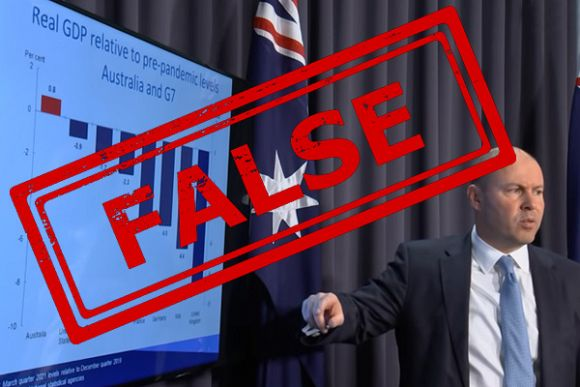 ABC News economics department shows incompetence with false information