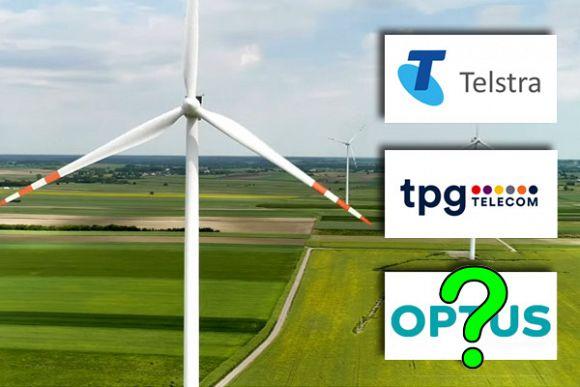 Optus falling behind in renewable energy commitments