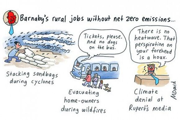 Barnaby's back — and so are the climate wars