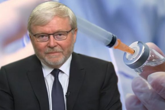 Kevin Rudd asked to save Australia from Scott Morrison