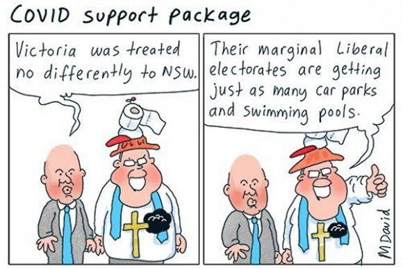 Murdoch press shows media bias towards Liberal COVID-19 strategy