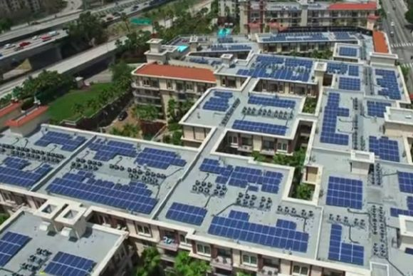 Microgrid power for a greener future