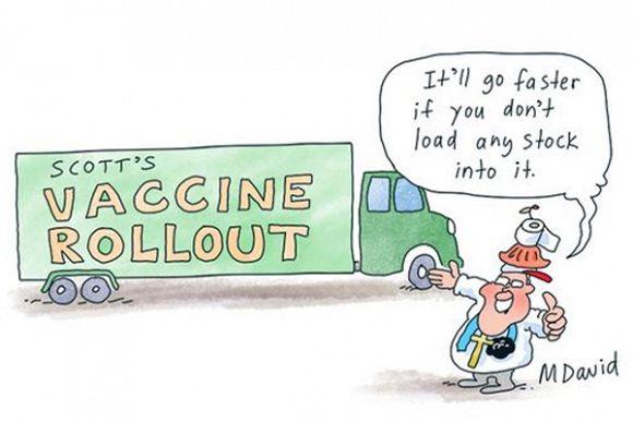 Public policy failure of Coalition's vaccine rollout