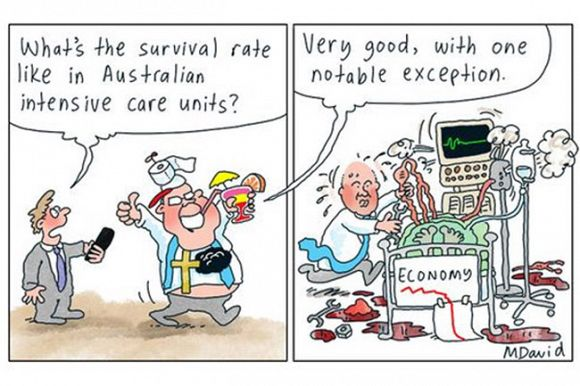 Rising living costs plunge Australia's economic ranking