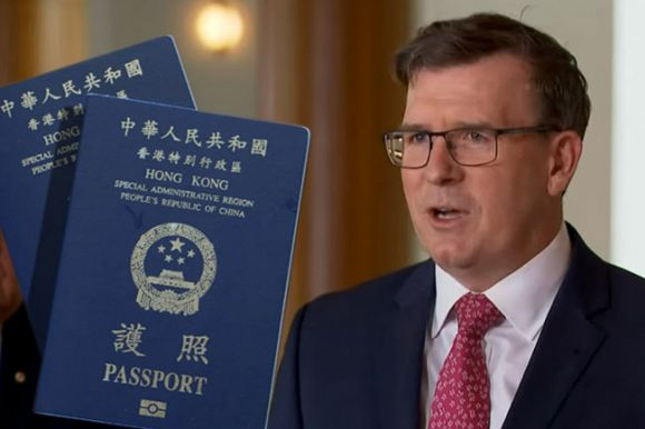 Government approved visas against migration laws