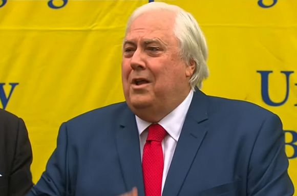Clive Palmer's campaign will have a body count