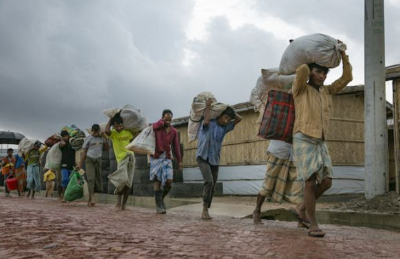 Fire, floods and felonies: Relocation the only option for Rohingya