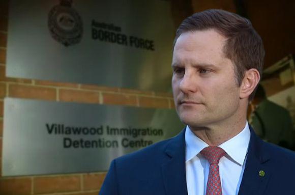 The Australian immigration prison system