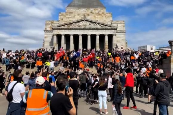 Melbourne anti-lockdown protests are a disorganised mess