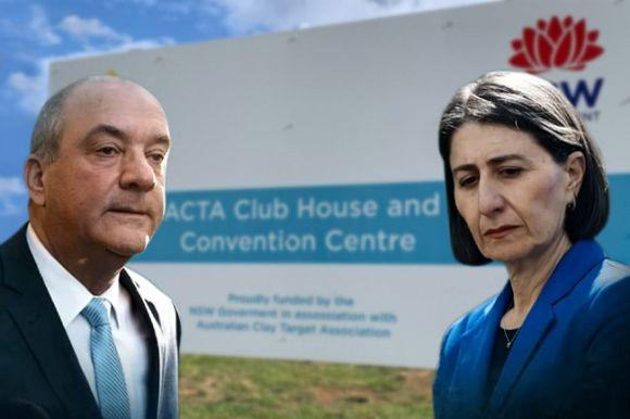 Dominic Perrottet drawn into ICAC gun club scandal