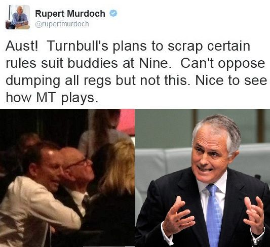 Turnbull's new media regulations and the cranky old crocodile