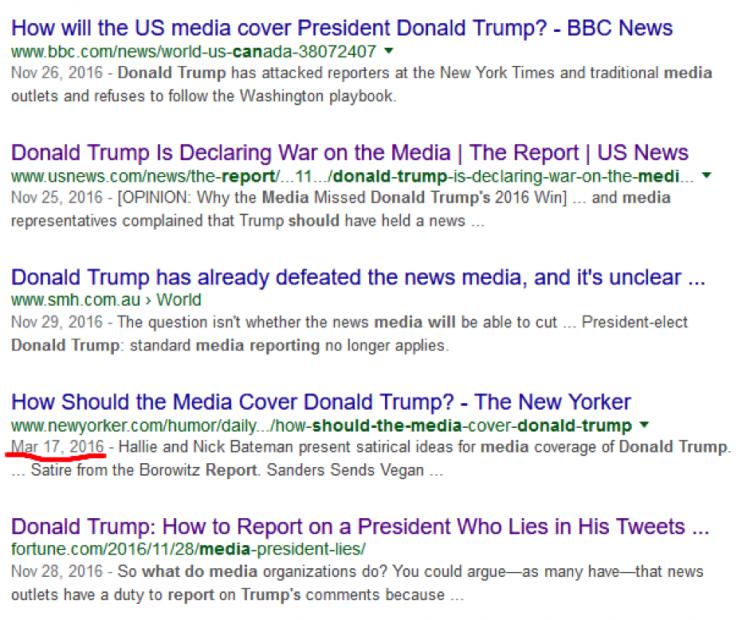 Media Sauce: How should the news media report Trump's