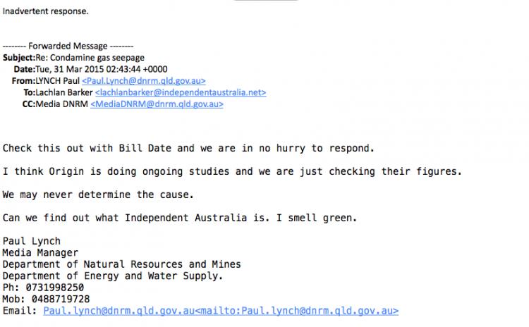 Queensland: Bureaucrat string puller one day, CSG mining big