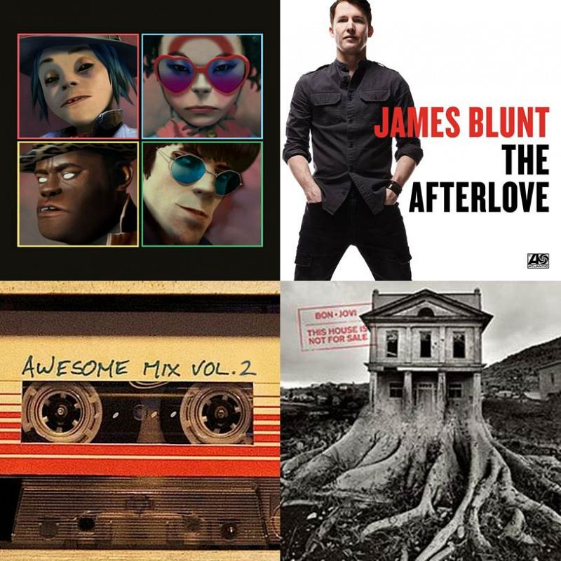 New Music Through Old Ears: Awesome Gorillaz Blunt Jovi