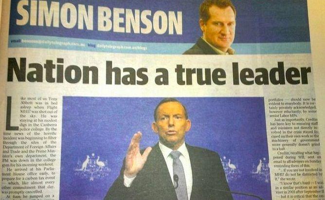 News Corp Boosts Return Of Tony Abbott