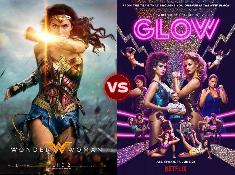 Screen Themes: Wonder Woman vs GLOW