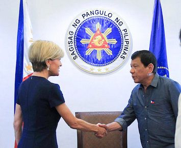 Duterte the Dauntless and the Turnbull Government's South China Sea role