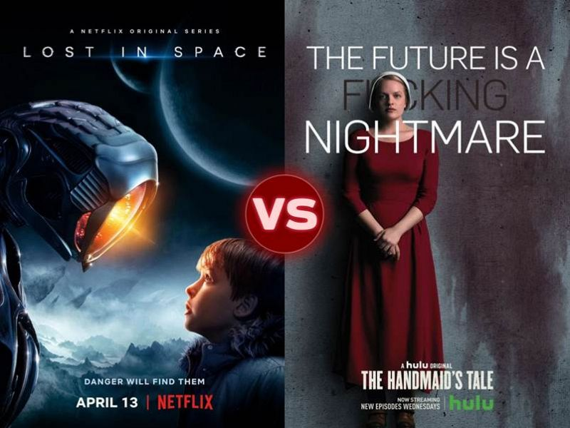 Screen Themes: Lost in Space vs The Handmaid's Tale