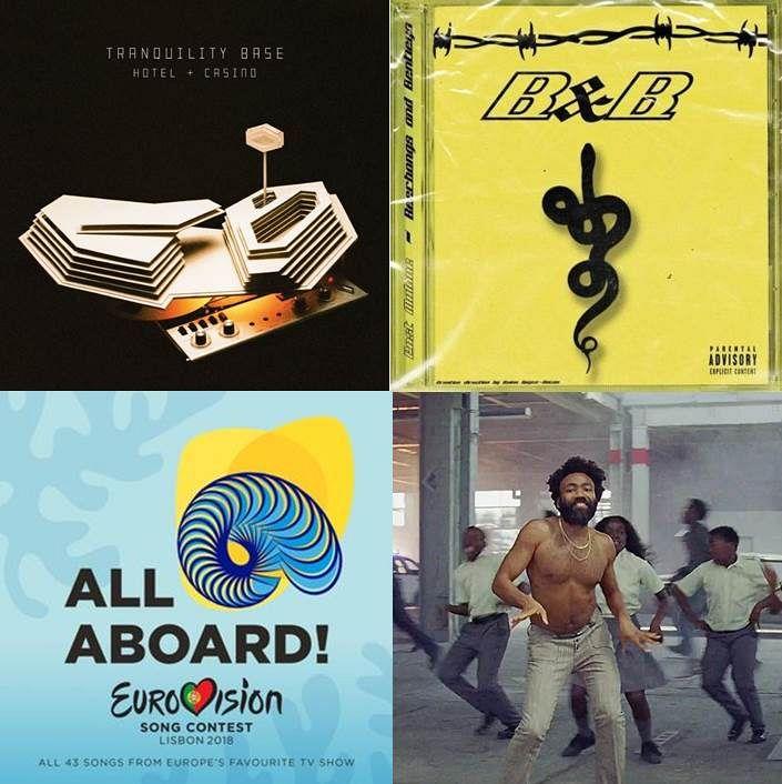 New Music Through Old Ears: Post Eurovision Childish Monkeys