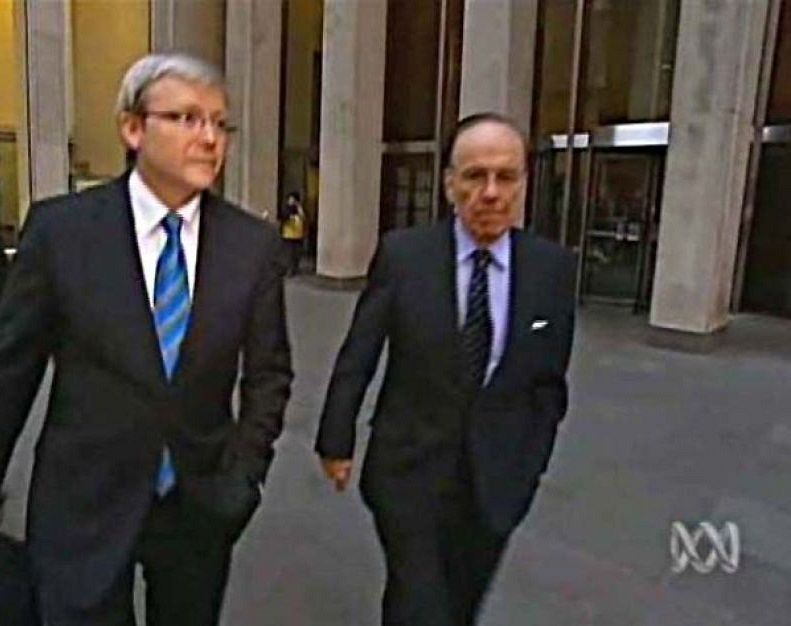 Exclusive The Curious Case Of Kevin Rudd Newscorp Abc And The Contract