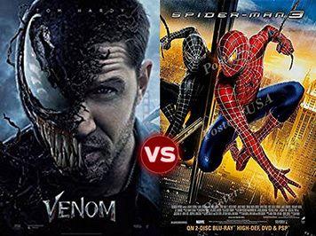 screen themes venom vs spider man 3