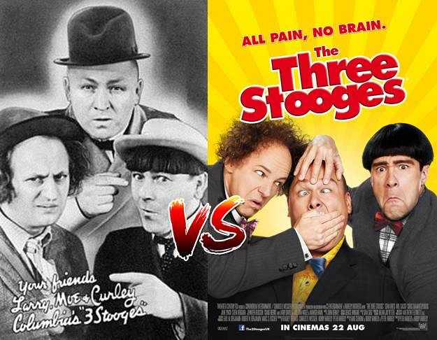Three Stooges Map Of Europe.Screen Themes Stooges Old And New