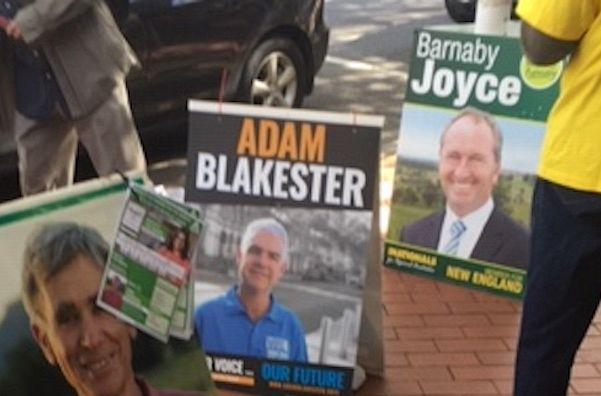 Barnaby Joyce and the New England odds