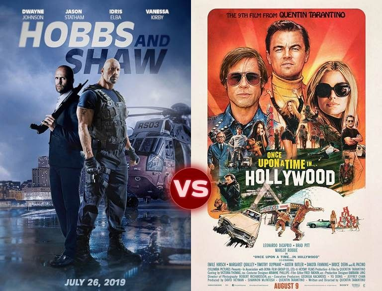 Screen Themes: Fast & Furious Presents: Hobbs & Shaw vs One Upon a Time in… Hollywood