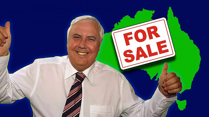 How Clive Palmer showed that our democracy can be bought