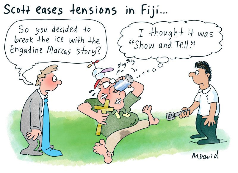 Morrison's state of distraction