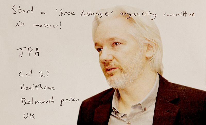 Letters from Belmarsh: What Julian Assange says we should do to save his life