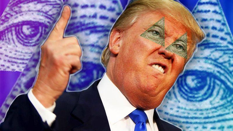 BREAKING: Illuminati disendorse Donald Trump for 2020