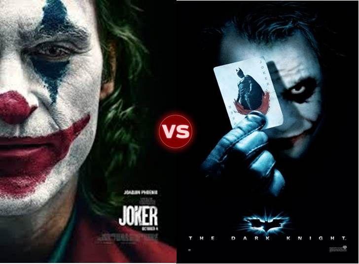 Screen Themes: Joker vs The Dark Knight