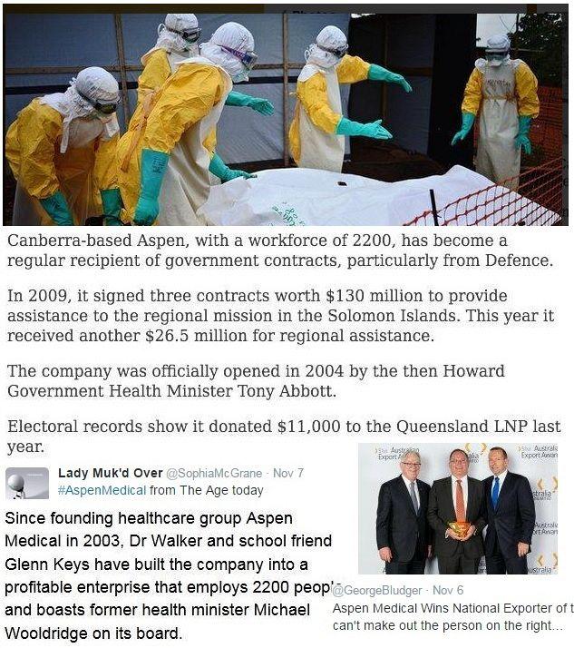 The Abbott Government and Aspen Medical: The black man's burden