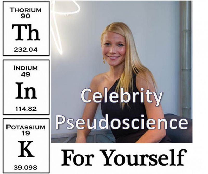 Think For Yourself Celebrity Pseudoscience