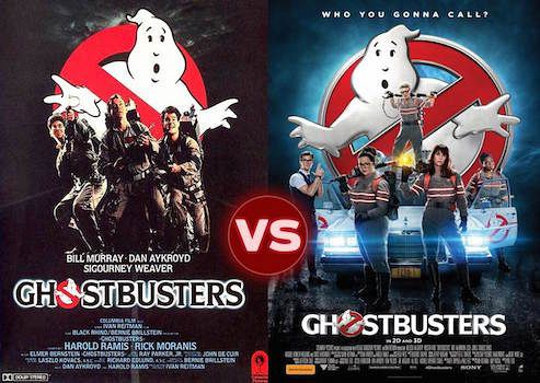 Screen Themes Ghostbusters 2016 Vs Ghostbusters 1984
